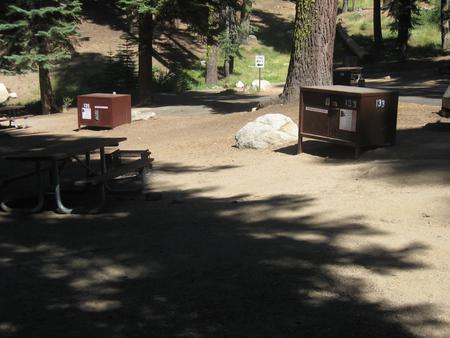 site 133, partial shade