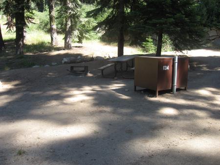 site 134, partial shade