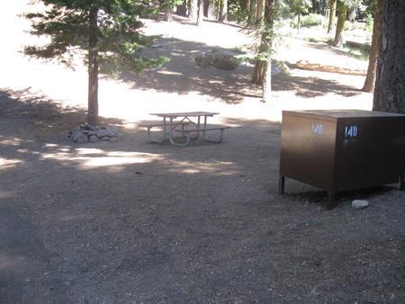 site 140, partial shade