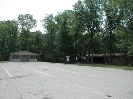 North Overlook Shelter Parking Area