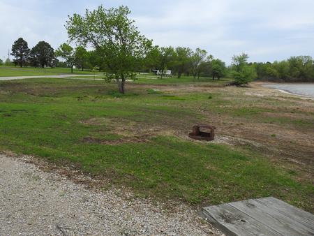Site 9 in Turkey Point Campground