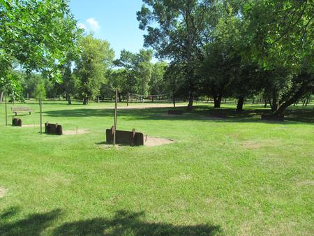 Horseshoe Pits at the Downstream Campground