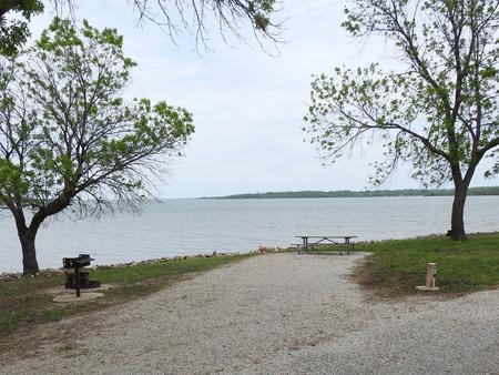Site 13 in Turkey Point Campground
