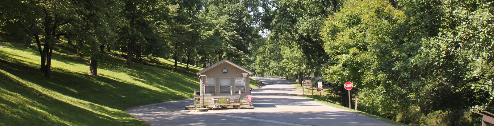 Ragland Bottom Campground Entrance