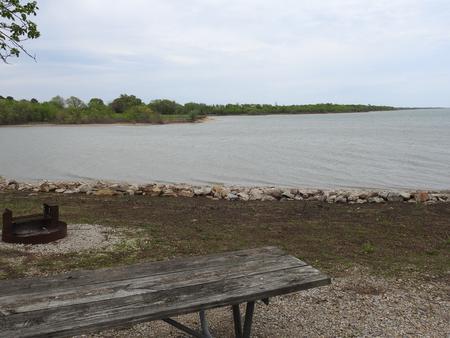 Site 14 in Turkey Point Campground