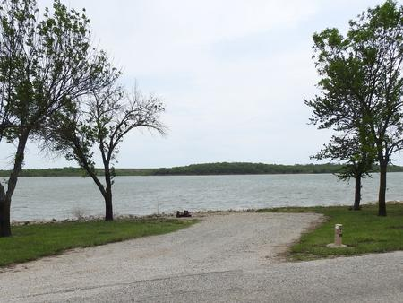 Site 17 in Turkey Point Campground
