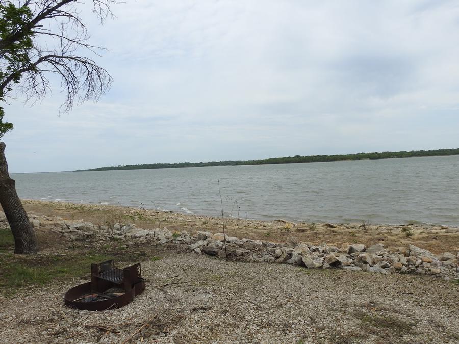 Site 17 in Turkey Point Campground