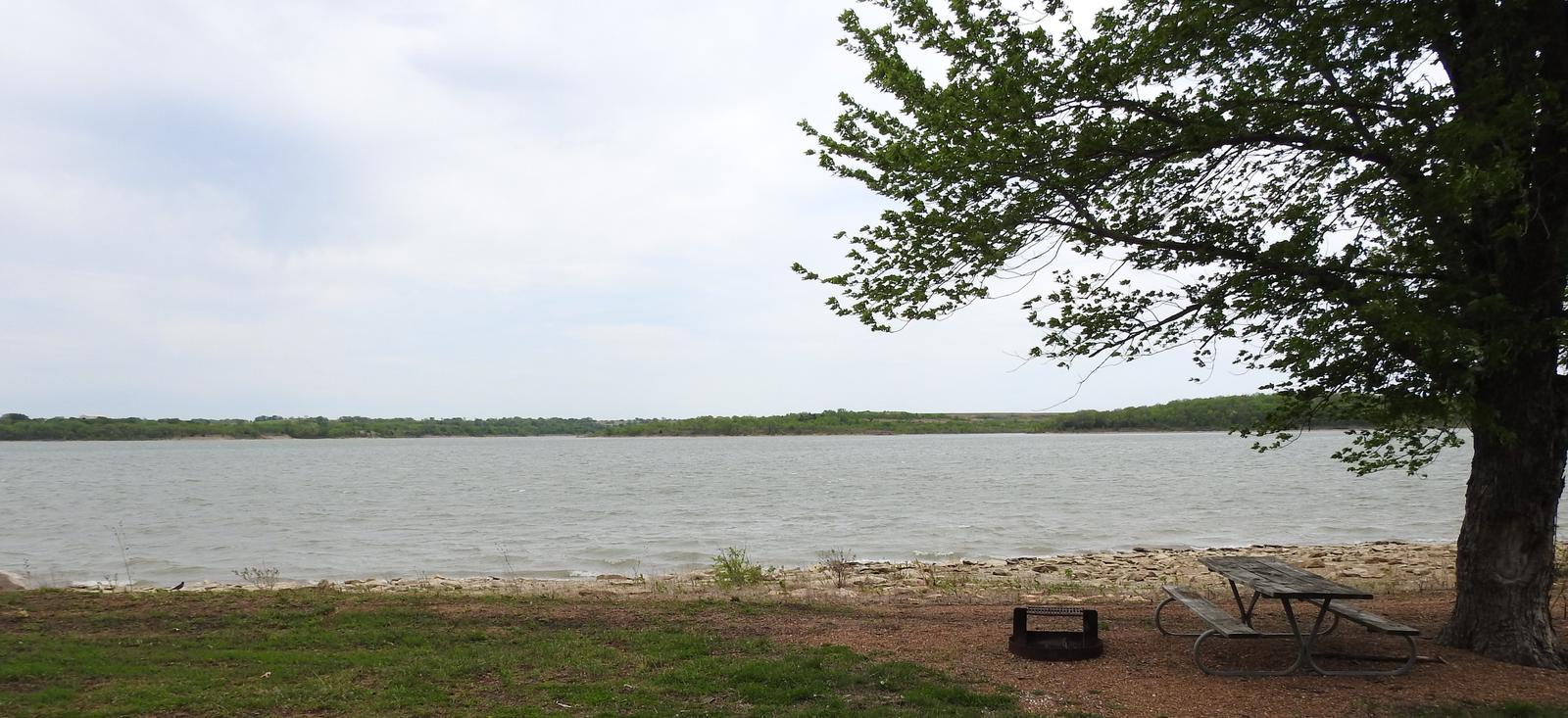 Site 18 in Turkey Point Campground