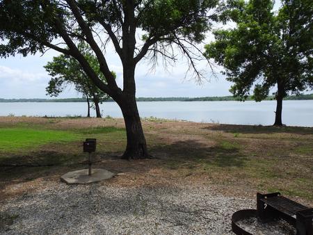 Site 20 in Turkey Point Campground