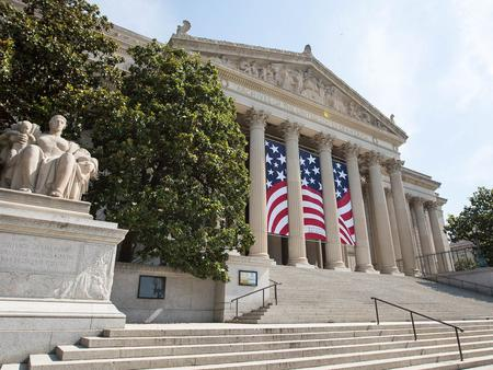 National Archives Museum; exterior of building