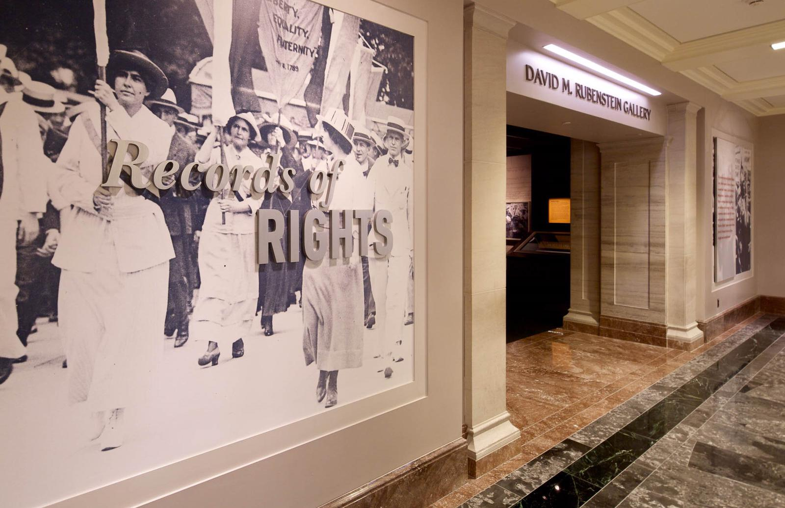Records of Rights Exhibit
