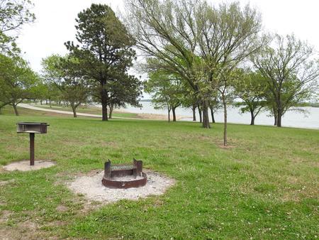 Site 24 in Turkey Point Campground
