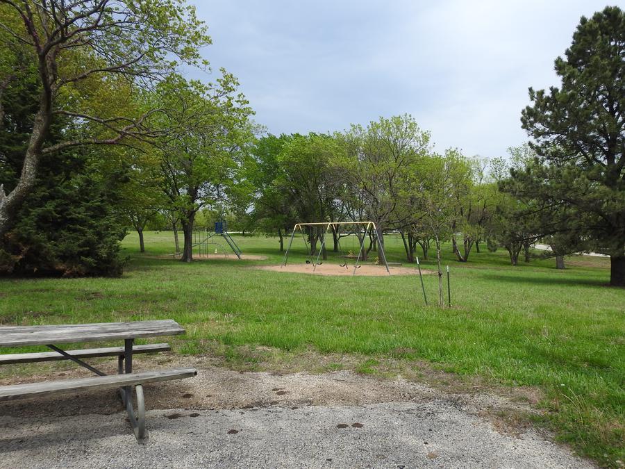 Site 25 in Turkey Point Campground
