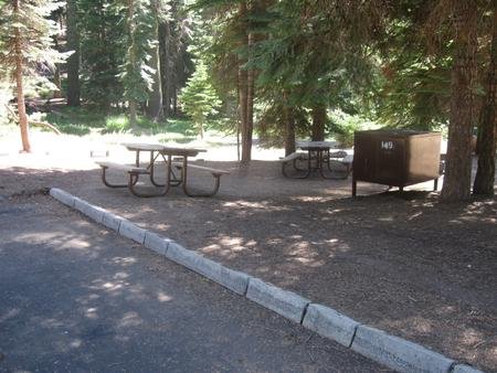 site 149, partial shade, near restrooms