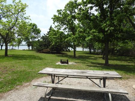Site 28 in Turkey Point Campground