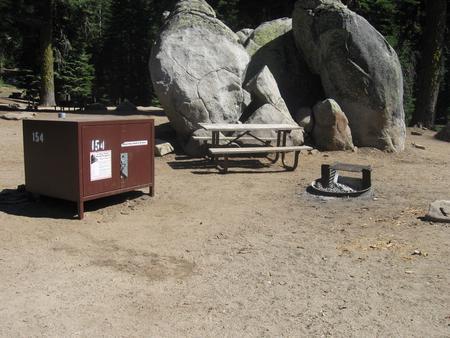 site 154, sunny, rocky site
