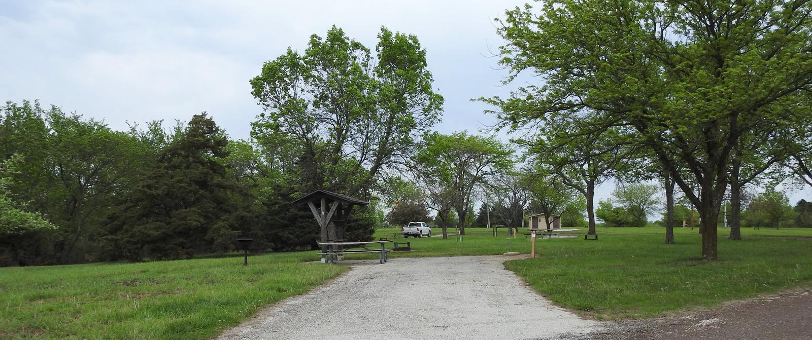 Site 29 in Turkey Point Campground