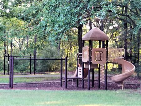 PlaygroundPlayground equipment located within Dale Miller Youth Group Area.