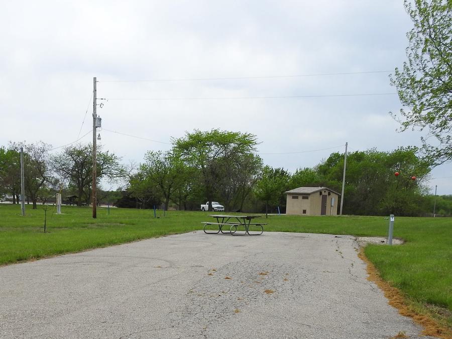 Site 35 in Turkey Point Campground