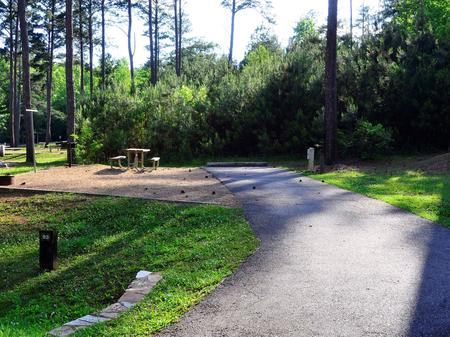 SW093 - Driveway and campsiteSweetwater Campground, campsite 93.