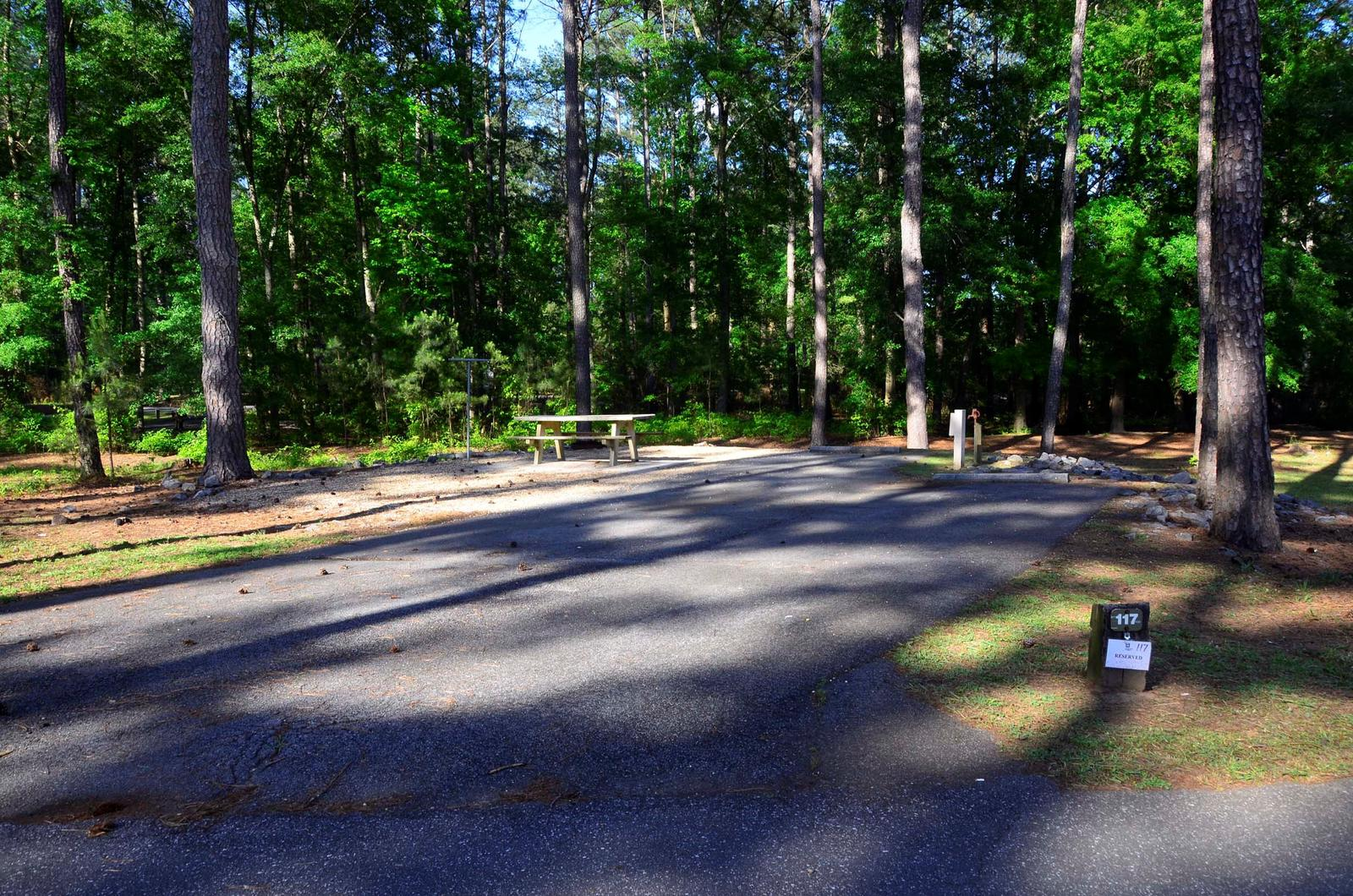 Sweetwater Campground Site 117
