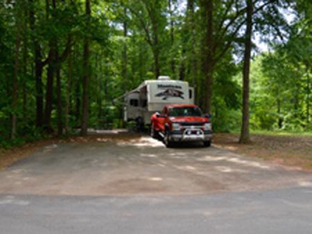 Victoria Campground, Site 34Victoria Campground Site 34