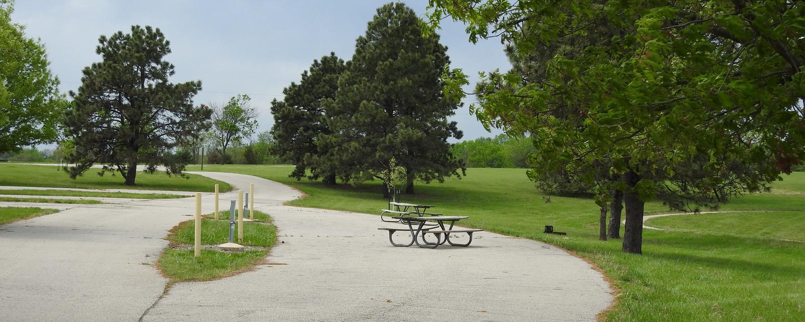 Site 45 in Turkey Point Campground