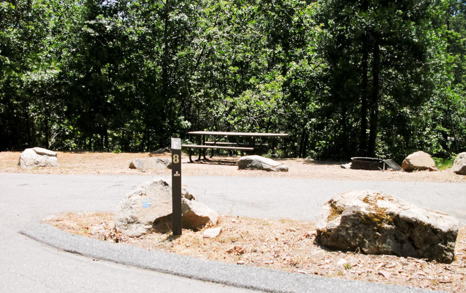 Spring Cove CampgroundSite 8