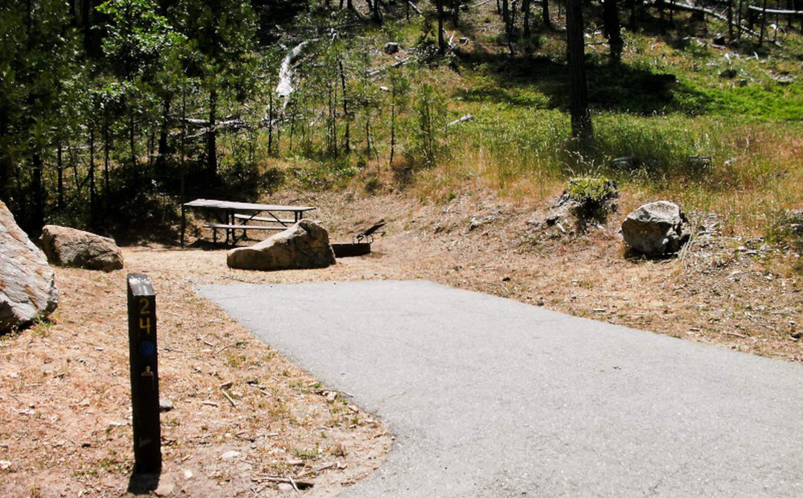 Spring Cove CampgroundSite 24