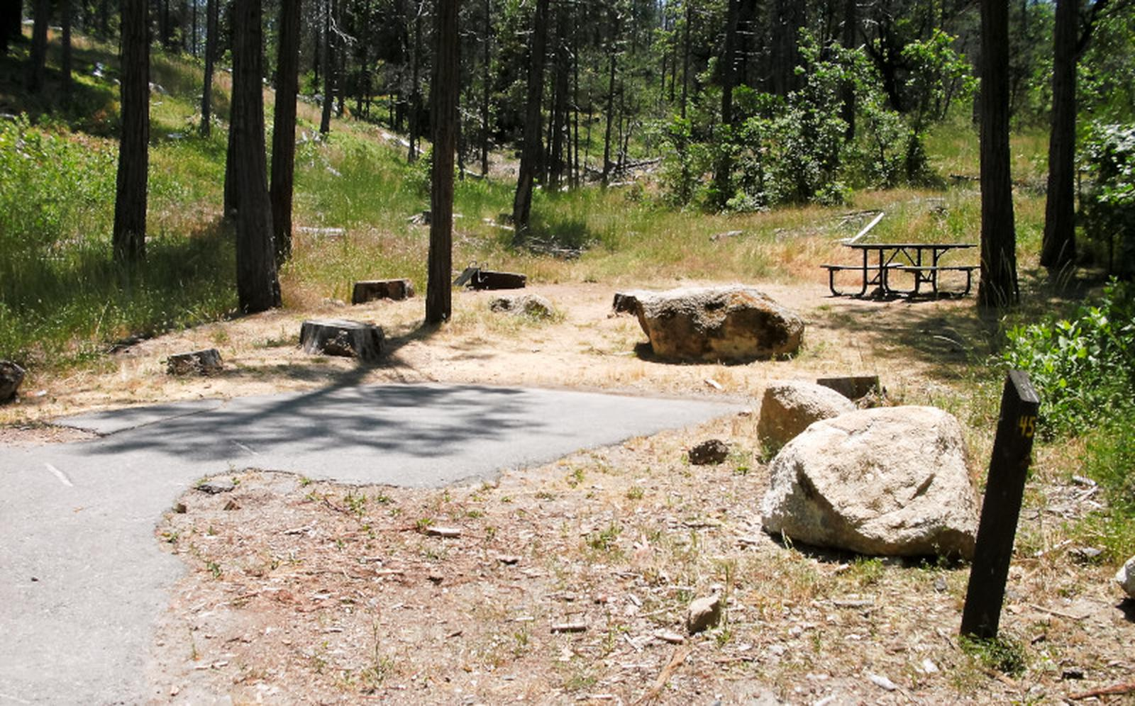Spring Cove CampgroundSite 45