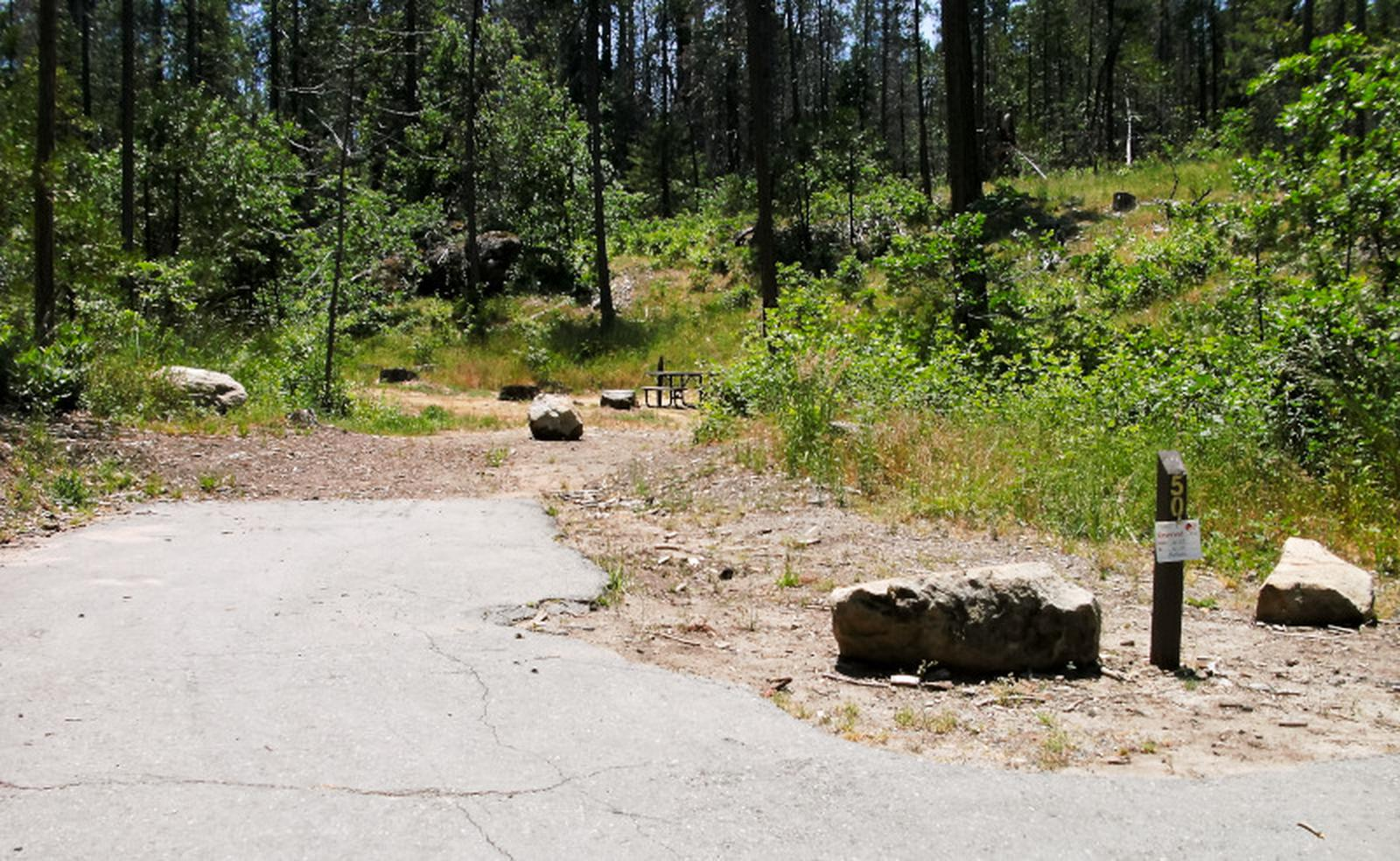 Spring Cove CampgroundSite 50
