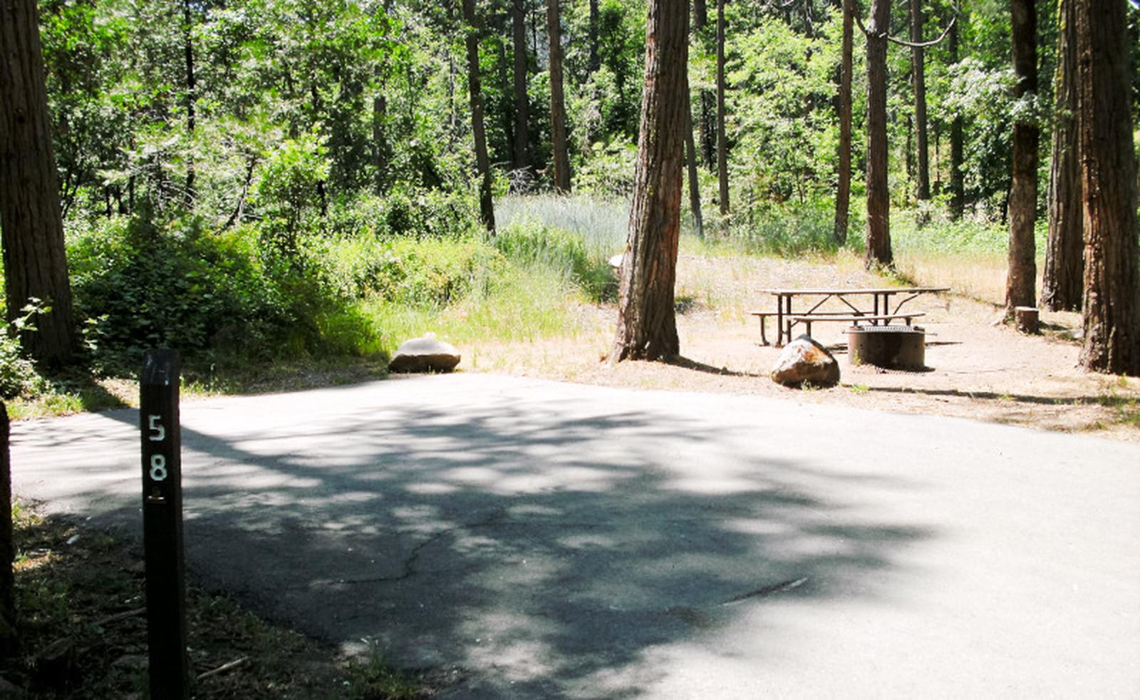 Spring Cove CampgroundSite 58