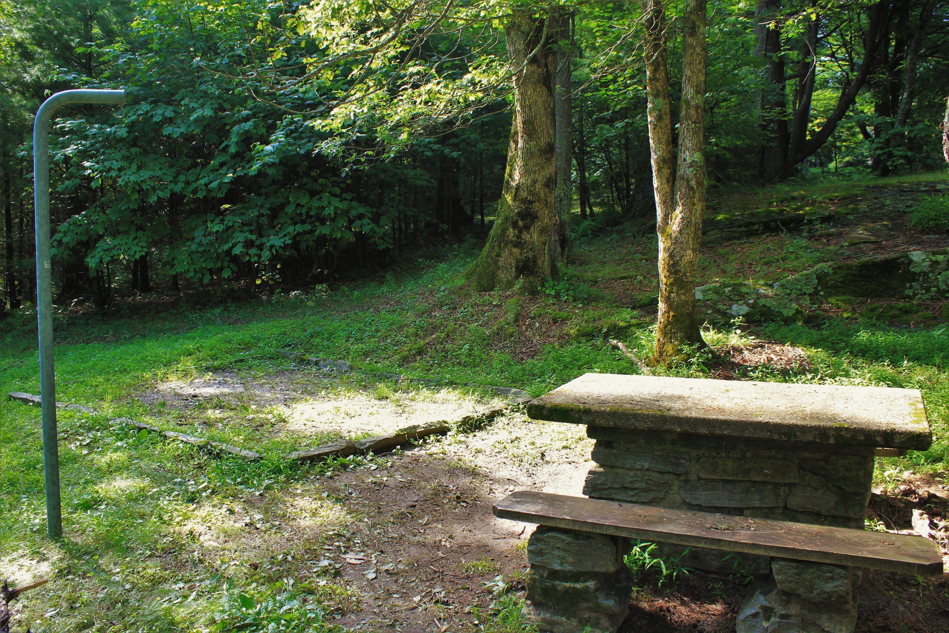 C77 Tent Site Photo