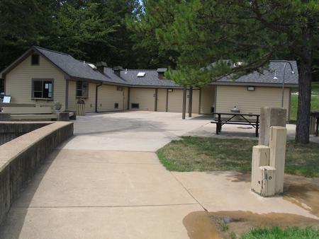Recently remodeled bathouse.Recently remodeled bathhouse.