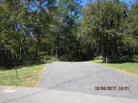 Loft Mountain Campground - Site D111