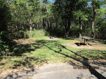 Loft Mountain Campground - Site D122