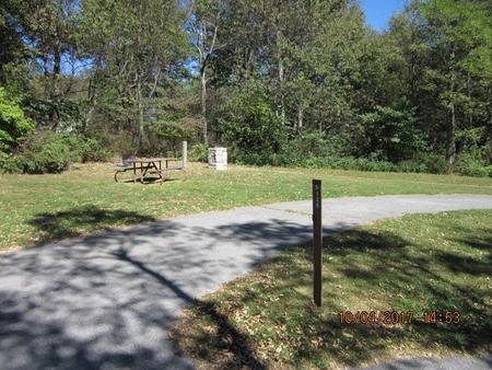 Loft Mountain Campground - Site D126