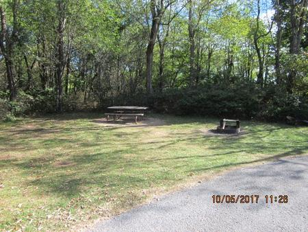 Loft Mountain Campground - Site D131