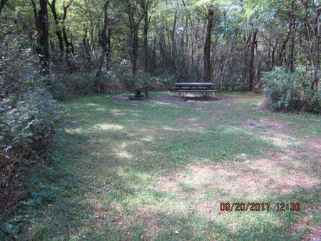 Loft Mountain Campground - Site E143