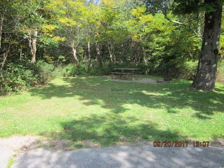 Loft Mountain Campground - Site E148