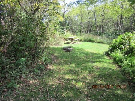 Loft Mountain Campground - Site E150