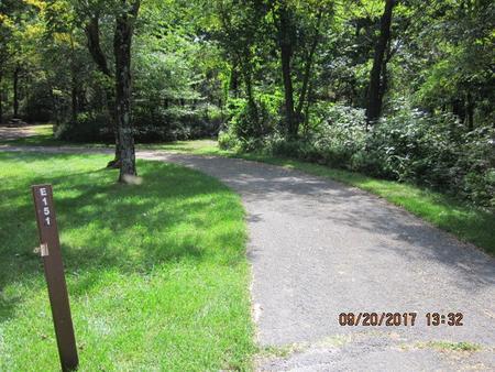 Loft Mountain Campground - Site E151