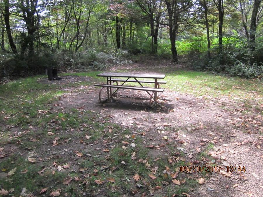 Loft Mountain Campground - Site E153