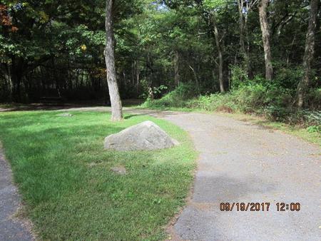 Loft Mountain Campground - Site F162