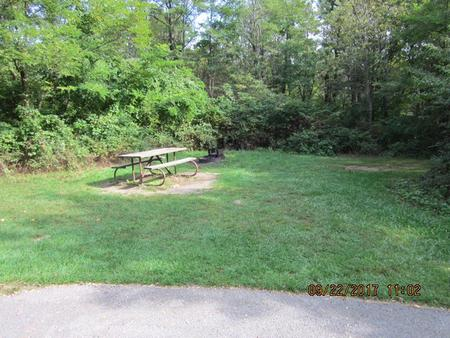 Loft Mountain Campground - Site F173