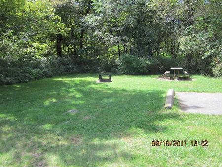 Loft Mountain Campground - Site F174