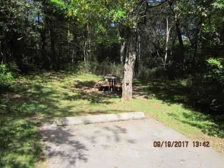 Loft Mountain Campground - Site F177
