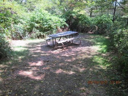 Loft Mountain Campground - Site F178