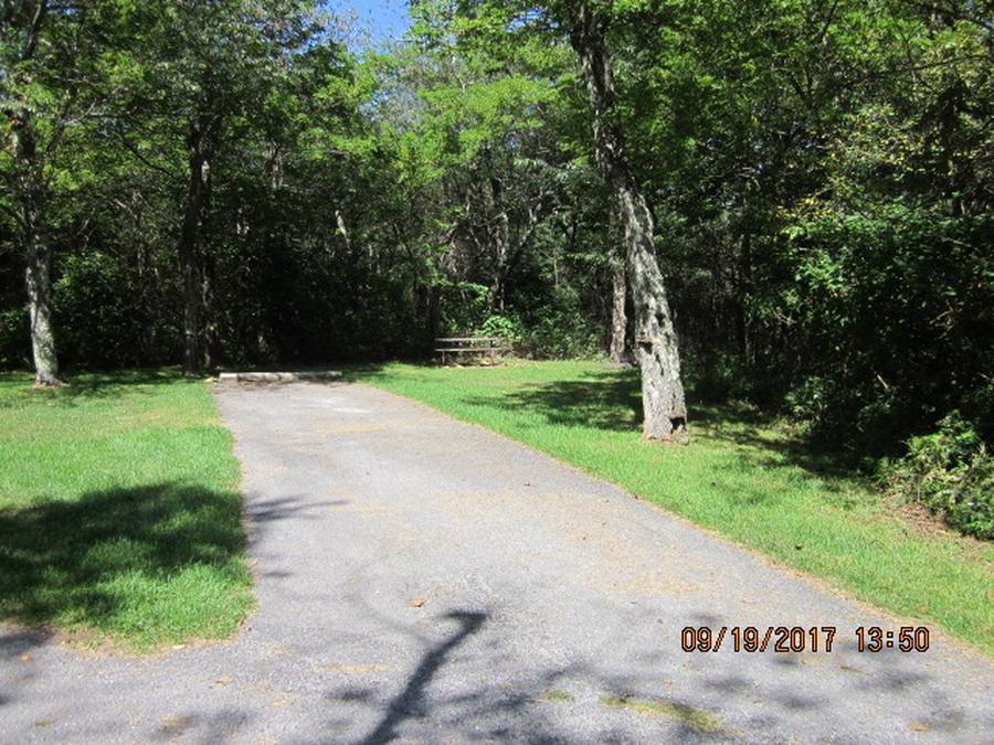 Loft Mountain Campground - Site F179