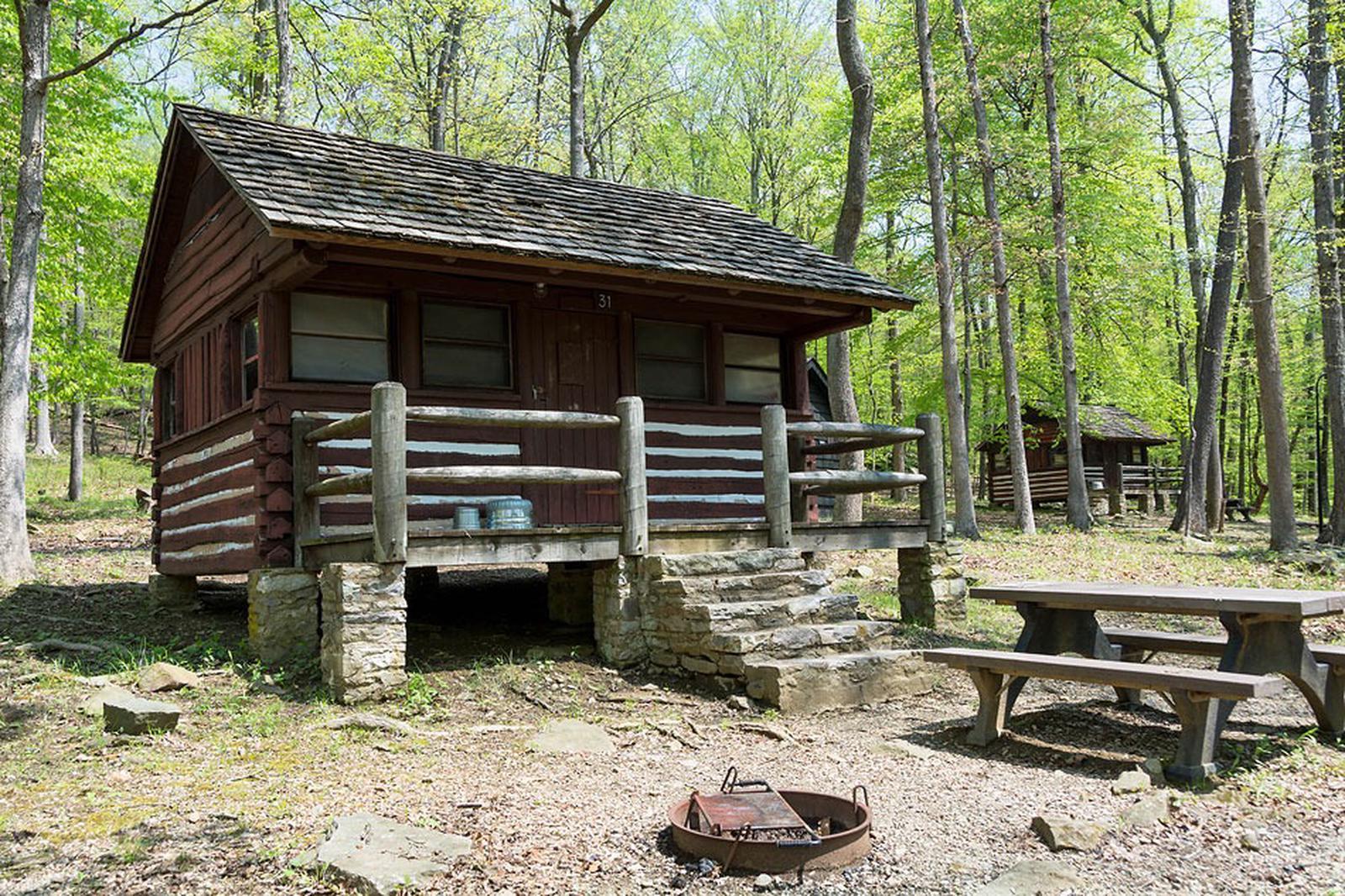 Camp Misty Mount Cabin 31